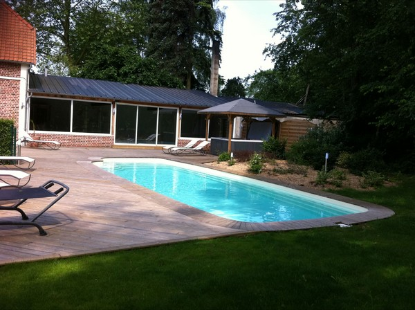 Nos r alisations de piscines en picardie for Construction piscine amiens