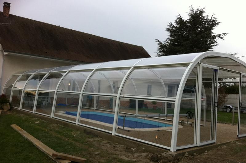 Piscines spas auto construction piscine 8x4 en polystyrne de for Abri piscine 8x4