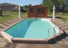 piscines coque polyester aztek piscine hors sol bois ovale 2 picardie piscine. Black Bedroom Furniture Sets. Home Design Ideas