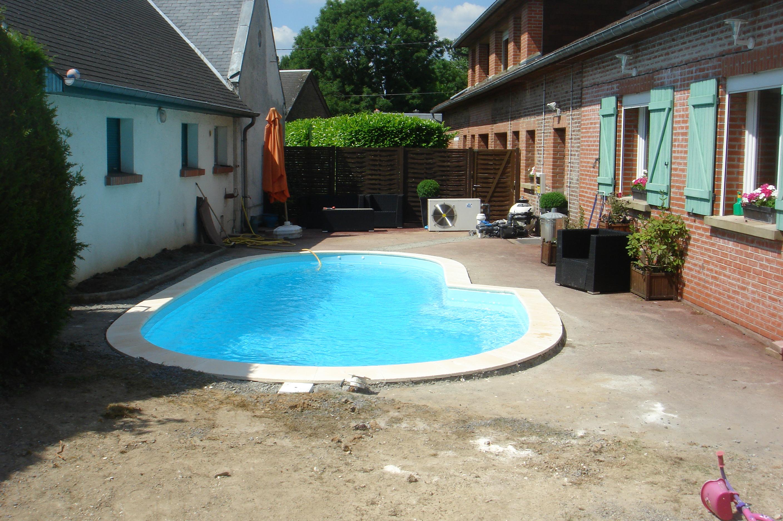 Nos r alisations piscine coque polyester picardie piscine - Entretien piscine coque polyester ...