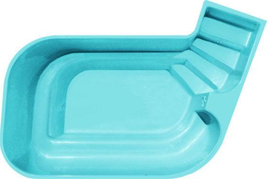 Mini piscine coque polyester oc ane picardie piscine for Petites piscines coques
